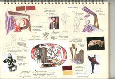 Schetsontwerp inspiratie Interior Design Sketchbooks, Sketchbook Project, Presentation Boards, Projects, Sketches, Sketch, Log Projects