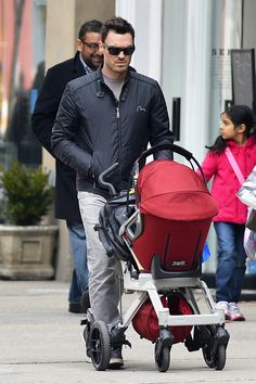 Brian Austin Green Pushes His Orbit Baby Stroller Through NYC! (Photos)