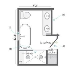 Small Master Bathroom Floor Plans. People Also Love These Ideas