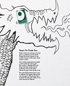 Oxo: Dragon's fire pumpkin soup | Ads of the World™