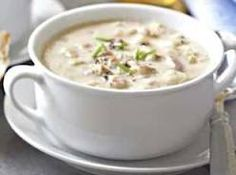 Outback Steakhouse Clam Chowder... Best clam chowder ever!!!!!!!!!!!!!!