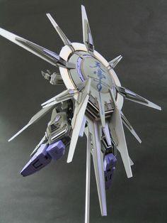 "1/144 ZGMF-X13 Providence Gundam ""Heavily Customized"" β - Gundam Kits Collection News and Reviews"