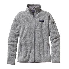 "Patagonia Better Sweater fullzip jacket in ""Birch White""(heathered gray) - Patagonia.com size Large"