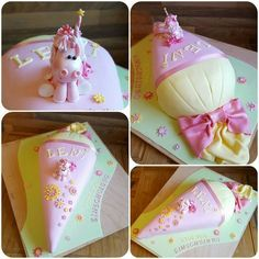 Special occasions And another school bag cake pink yellow unicorn training Gateau Baby Shower, Bag Cake, School Bags For Kids, Food Humor, Easy Cake Recipes, Sugar Art, Cake Tutorial, Macaron, Fondant Cakes