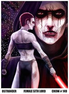 Chow 149 :: VOTING :: Female Sith Lord