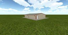 3D #architecture via @themuellerinc http://ift.tt/2ezUi7S #barn #workshop #greenhouse #garage #DIY