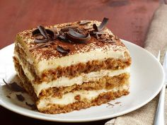 This espresso-spiked Tiramisu is the ultimate dessert.
