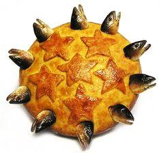 Starry Gazey Pie or Stargazy pie
