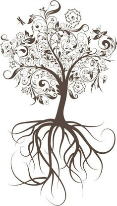 On this post you can see Heart Tree Tattoo Design - Tattoos Ideas in an interesting style. Look at the photos and sketches of the Heart Tree Tattoo Design. Bild Tattoos, Love Tattoos, Beautiful Tattoos, Body Art Tattoos, New Tattoos, I Tattoo, Tatoos, Oak Tree Tattoo, Tattoo Thigh