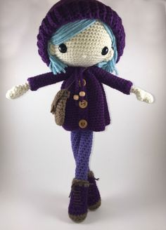 Emilia - muñeca Amigurumi Crochet patrón PDF