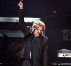 Daryl Hall, i love watching him on stage  or basically anywhere!!!