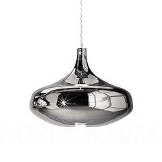 Studio Italia Design Nostalgia Glass L Pendant Light