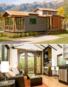 Downsizing to a smaller home doesn't have to mean living in a flimsy prefab, inhaling toxic chemicals from cheap synthetic components. It also doesn't have to be quite so extreme as moving into a tiny house the size of a shed. High quality, handcrafted small houses like those made by Wheelhaus don't skimp on quality, and they're so well designed, they don't feel all that small. #prefabawesome