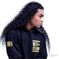 Gyazo - (90) Shamoy Persad - Google Chrome Long Curly Hair Men, Long Black Hair, Curly Hair Styles, Natural Hair Styles, Beautiful Men Faces, My Black Is Beautiful, Gorgeous Men, Long Natural Curls, Natural Man