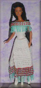 GGH9004 Cheyenne Rain  Crocheted by Shirley Pratt
