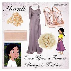"""Disney Style: Shanti"" by trulygirlygirl ❤ liked on Polyvore featuring Disney, Alberta Ferretti, Miu Miu, mae, Zara, Repossi, the jungle book, shanti and disney"