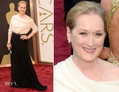 Meryl Streep In Lanvin – Oscars 2014