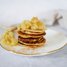Here's another FREE BARE Guide recipe! These amazing Almond Meal Pikelets are a perfect Model 2 snack:) They're also perfect for all my pancake lovers out there.. I honestly can't get enough of this recipe. This is one the kids will love too, I hope you enjoy it! Serves: 1Prep time: 10 minutesCook time: 15 minutes Ingredients: 1/4 cup almond meal1/4 tsp baking soda1 tsp ground cinnamon1/4 tsp sea salt1 tsp vanilla extract1 egg1/2 cup canned diced appleDirections: In a small bowl, add almond me Healthy Mummy Recipes, New Recipes, Healthy Snacks, Cooking Recipes, Healthy Eating, Almond Recipes, Quick Easy Meals, Breakfast Recipes, Almond Meal