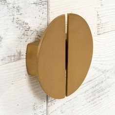 Half Circle Door Pull (Sold as a Pair) Shaker Style Cabinets, Modern Kitchen Cabinets, Lisa's Kitchen, Kitchen Modern, Knobs And Handles, Door Handles, Brass Handles, Hardware Jewelry, Round Door