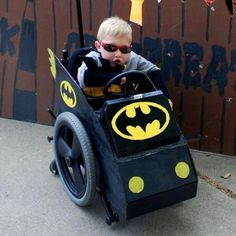 Wheelchair Halloween Costume