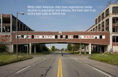 Motor City Industrial Park, Abandoned Detroit MI