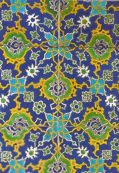 Iznik ceramic tiles  Topkapi Palace, Istanbul