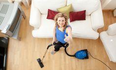 Cómo limpiar de forma rápida todas las superficies de la sala