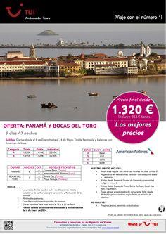¡Los mejores precios! PANAMÁ y Bocas del Toro. Precio final desde 1.320€ ultimo minuto - http://zocotours.com/los-mejores-precios-panama-y-bocas-del-toro-precio-final-desde-1-320e-ultimo-minuto-3/