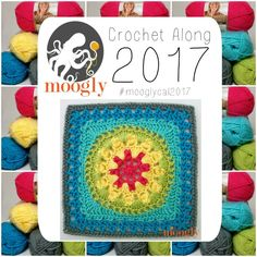 MooglyCAL2017 - Block #13, courtesy of The Lavender Chair!