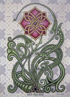 Wild Irish Rose x Woven Tapestry – Celtic Knot, Ireland Wilde irische Rose 26 x 36 Webteppich keltisch Celtic Symbols, Celtic Art, Celtic Knots, Mayan Symbols, Egyptian Symbols, Ancient Symbols, Irish Celtic Tattoos, Celtic Tattoo For Women Irish, Celtic Mandala