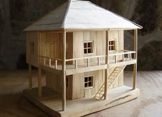 Perfect Build Model House Out Of Cardboard