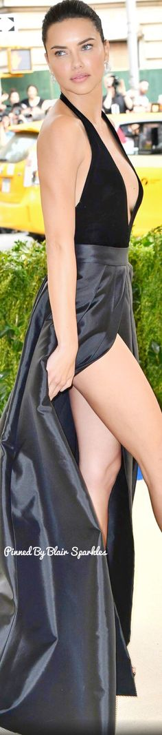 Adriana Lima at Met Gala 2017 ♕♚εїз   BLAIR SPARKLES  