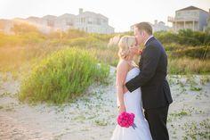 Nautical Navy + Bright Pink Wild Dunes Resort Intimate Summer Wedding in Charleston SC // Dana Cubbage Weddings // Charleston SC + Destination Wedding Photographer