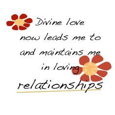 Attracting True Love | LOVE affirmations Divine love Divine Love Affirmation