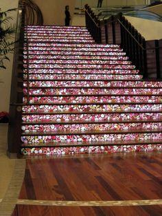 Mosaic steps so want this!!