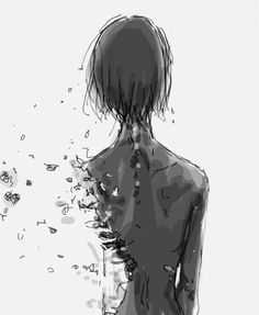 Find images and videos about life, anime and broken on we heart it - the ap Sad Anime Quotes, Manga Quotes, Manga Art, Manga Anime, Anime Art, Arte Obscura, Estilo Anime, My Demons, Dark Art