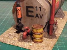 Short tute to make barrels - 40k terrain