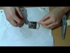 HOW TO TRANSFER IMAGE ON POLYMER CLAY TUTORIAL