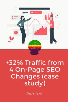 Traffic from 4 On-Page SEO Changes (case study) On Page Seo, Great Ads, Growth Hacking, Graphic Design Tips, Social Media Channels, Video Maker, Lead Generation, Wall Street, Case Study