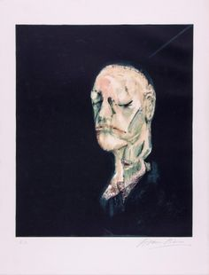 Francis Bacon - The Life Mask of William Blake
