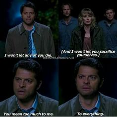 One of my favorite Castiel moments