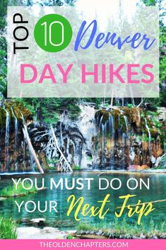 The Top 10 hikes in Denver Colorado less than 2 hours away from downtown Includes the best hiking trails in Denver Rocky Mountain National Park Estes Park Boulder Colorad. Estes Park Colorado, Vail Colorado, Breckenridge Colorado, Boulder Colorado, Denver Colorado Hiking, Hikes Near Denver, Winter Park Colorado, Road Trip To Colorado, Colorado Mountains