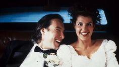 Nia Vardalos Snaps a Fun Selfie with John Corbett During Filming of 'My Big Fat Greek Wedding — Plus See the Movie's Cast Then and Now! Nia Vardalos, John Corbett, Wedding Superstitions, Best Movie Couples, Film Mythique, Greek Girl, Wedding Movies, Wedding Stuff, Books
