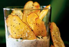 Baked Potato Chips Recipe - Oprah.com