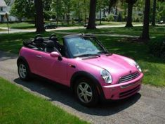 Hot pink Mini Cooper Convertible ebay auction | PinkCarAuction