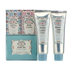 Cath Kidston Blossom Bath Set Shower Gel 75ml  Body Lotion 75ml 2pcs ** Learn more by visiting the image link.
