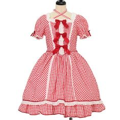 Worldwide shipping available ♪ BABY, THE STARS SHINE BRIGHT ☆ ·. . · ° ☆ Gingham Ryuminu Dress https://www.wunderwelt.jp/en/products/%EF%BD%97-15898  IOS application ☆ Alice Holic ☆ release Japanese: https://aliceholic.com/ English: http://en.aliceholic.com/