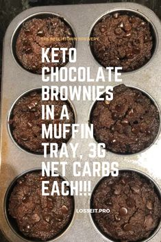 Made these today for my nephew and he loved them. Only thing I did different was sub the almond flour with pumpkin seed flour since he is allergic to nuts. Thank you so much for the recipe. For More Information To Visit The Website. Low Carb Sweets, Low Carb Desserts, Low Carb Recipes, Keto Cookies, Brownie Cookies, Keto Cake, Keto Cupcakes, Keto Friendly Desserts, Keto Brownies