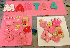 Maralon Bakery: Cumpleaños de Peppa Pig: Galletas.