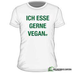 Ich esse gerne Veganer